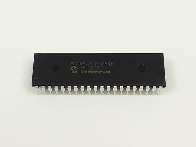 8BIT FLASH MCU IC DIP40 PIC18F4520-I//P By MICROCHIP 18F4520