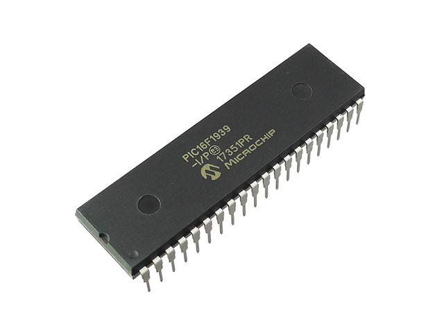 PIC16F1939、新しく製造された16Fシリーズの中の一つですね。