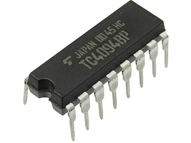 シフトレジスタ「TC4094」の使い方
