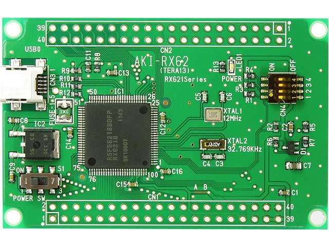 RX621マイコンボード: マイコン...