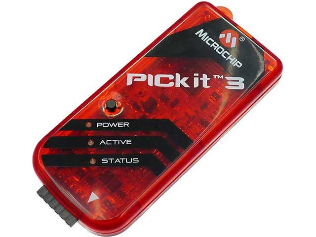 PICkit3です。色がなんかカッコイイ気がする。