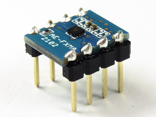秋月電子の電圧変換モジュールです。