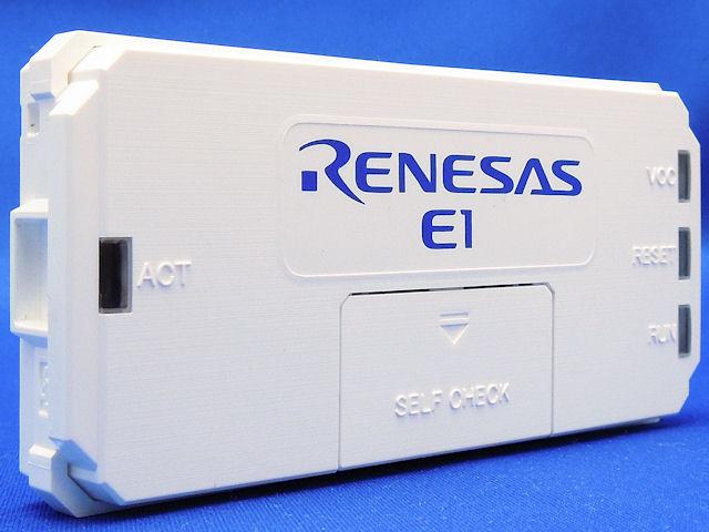 E1 RENESAS R0E000010KCE00 debugger R8C//78K//RL78//RX//V850