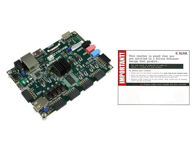 ZYBO Zynq-7020評価ボード Z7-20 開発環境ソフト