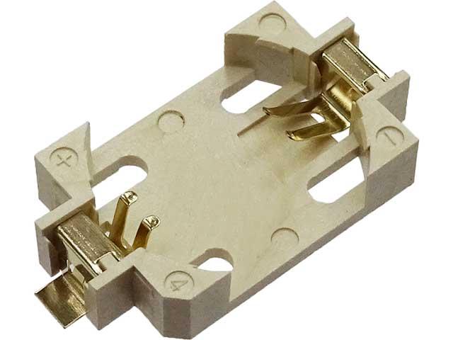 ボタン電池基板取付用ホルダー CR2032用 CH28-2032LF(TR)(表面実装用)