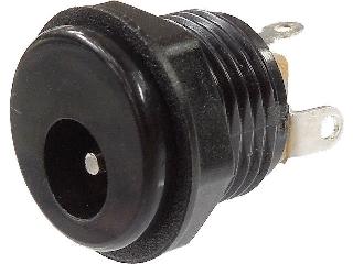 2.1mm標準DCジャック パネル取付用 MJ-10