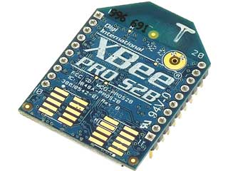 XBee-PRO ZB Extended-Range Programmable S2Bモジュール(PCBアンテナ)