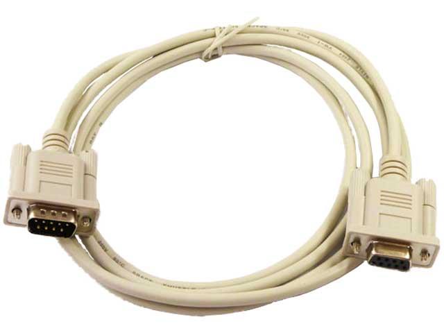 RS232Cケーブル(Dサブ9Pオス)-(9Pメス)ストレート結線 ...