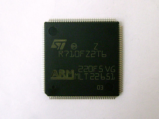 ARM7マイクロコントローラ STR710FZ2T6: マイコン関連 ...