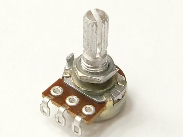 小型ボリューム 1MΩB: パーツ一般 秋月電子通商-電子部品・ネット通販